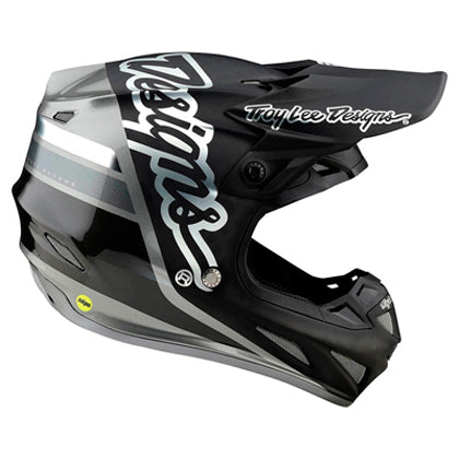 Casco Troy Lee SE4 Carbon ECE Silhouette ALL2BIKES