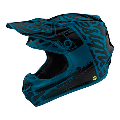 Casco Troy Lee SE4 Polyacrylite Factory Ocean ALL2BIKES