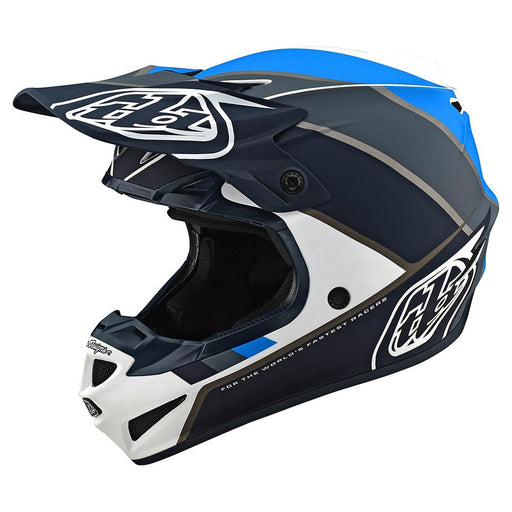 Casco Troy Lee SE4 Polyacrylite Beta White Gray ALL2BIKES