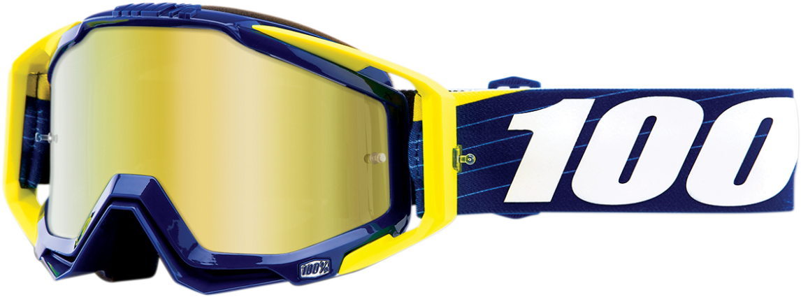 Goggles 100% Racecraft Bibal Navy