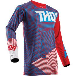 JERSEY THOR GEOTEC RED BLUE
