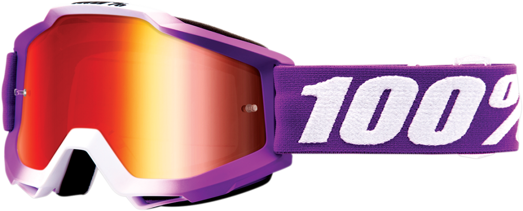 Goggles 100% Accuri Framboise ALL2BIKES