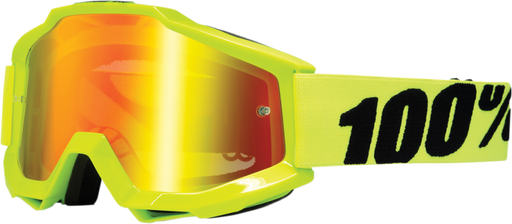 Goggles 100% Accuri Fluo Yellow ALL2BIKES