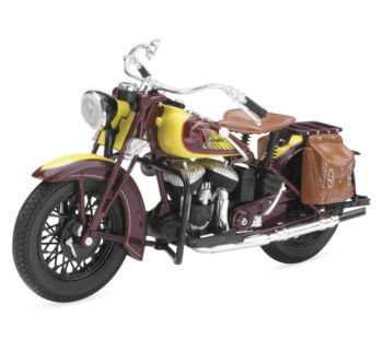 Moto a Escala 1:12 Indian 1934 Sport Scout  all2bikes