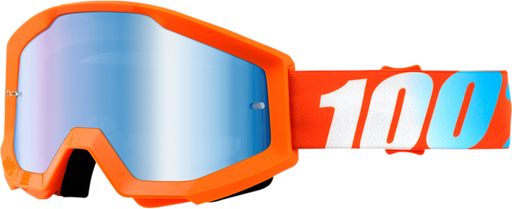 Goggles 100% Strata Orange ALL2BIKES