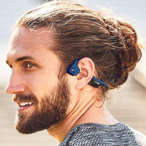 Audifonos AfterShokz Air Midnight Blue all2bikes