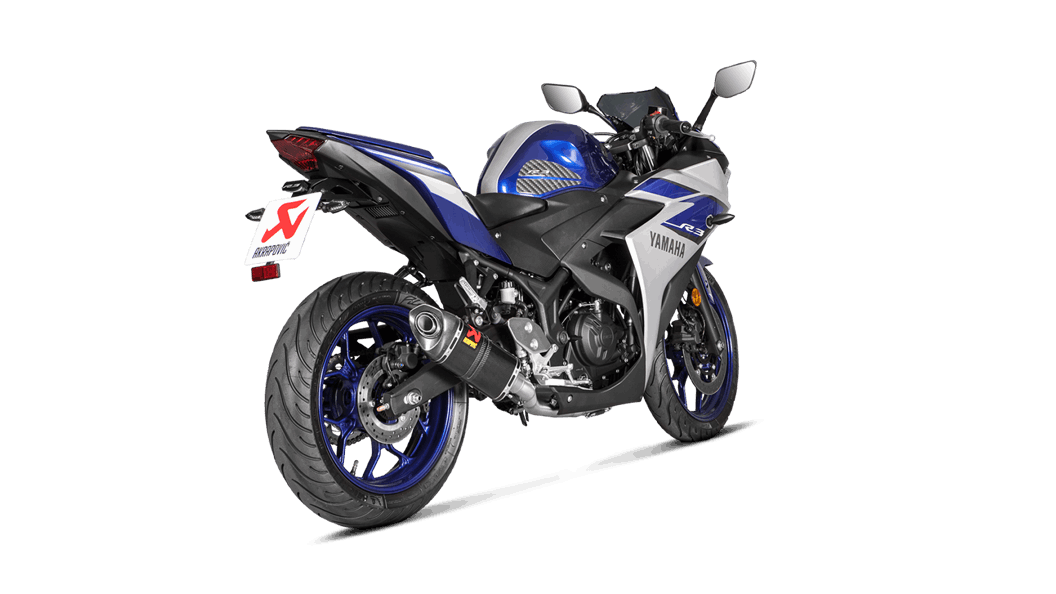 Escape Akrapovic Full System Yamaha R3 2016-2018 all2bikes