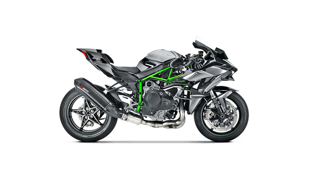 Escape Akrapovic Full System Kawasaki Ninja H2R 2015-2019 all2bikes