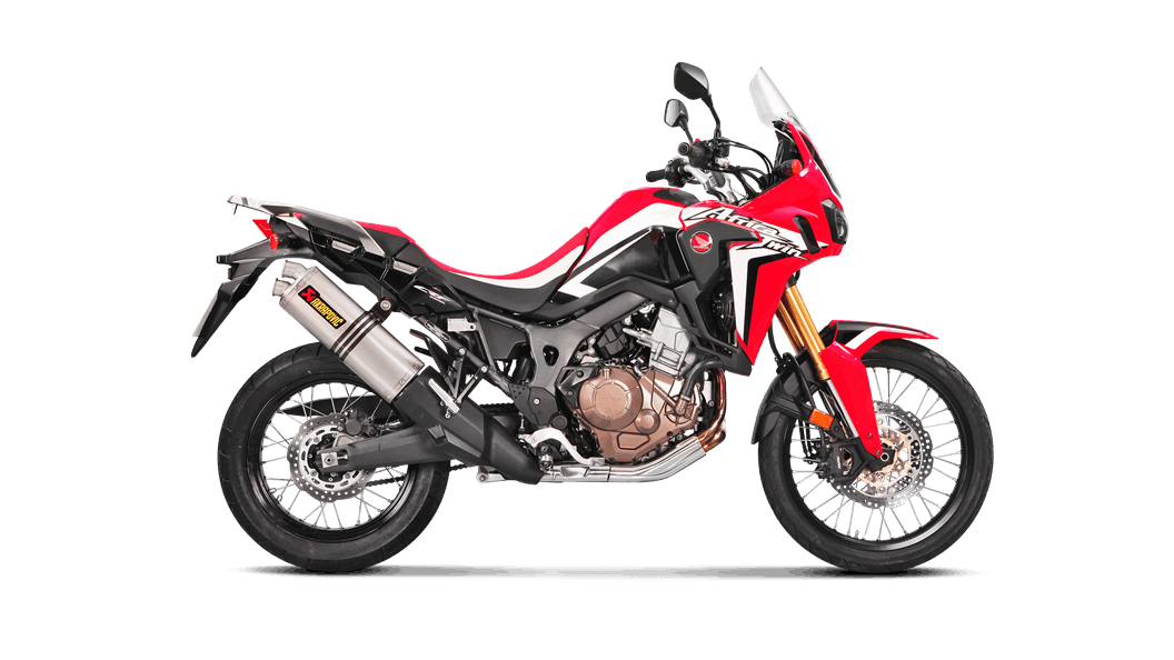 Escape Akrapovic Slip On Honda CRF1000 AFRICA TWIN 2016-2019
