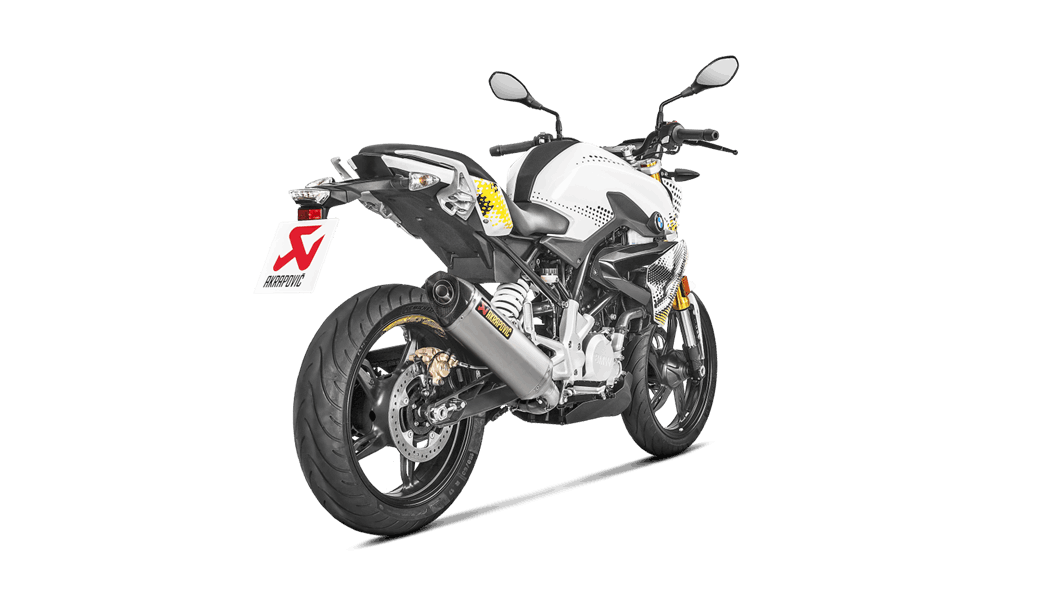 Escape Akrapovic Full System BMW G310 R 2017-2019 all2bikes