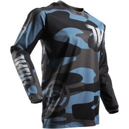 JERSEY THOR PULSE CAMO BLACK BLUE