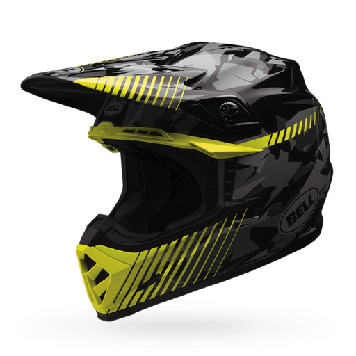 Casco Bell Moto 9 Yellow Camo