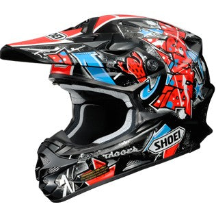 Casco Shoei VFX-W  Barcia TC-1