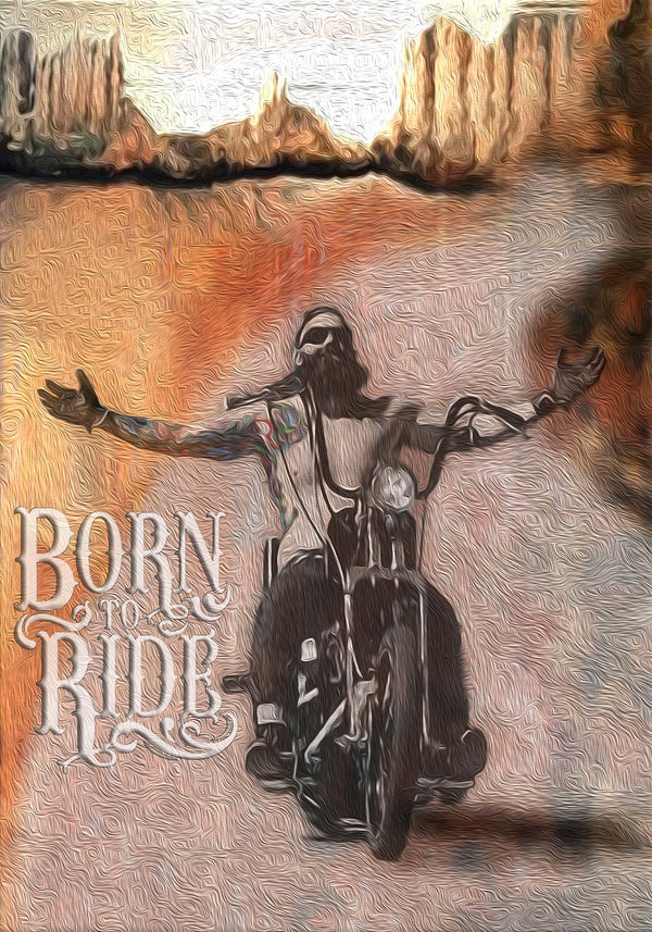 BIKER BORN TO RIDE