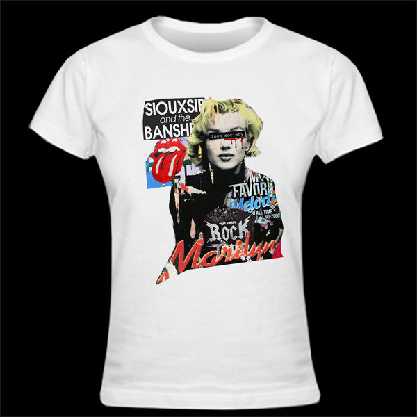 T-shirt femme  POP ART MARILYN