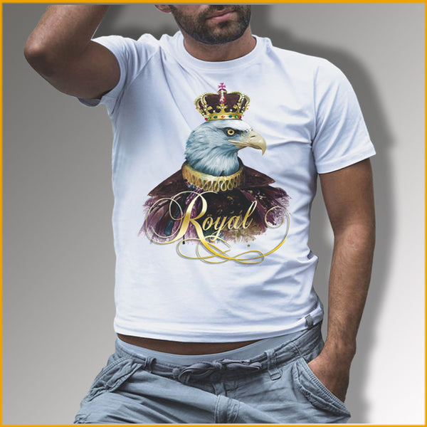 T-shirt Unique à l'effigie de l'aigle royal