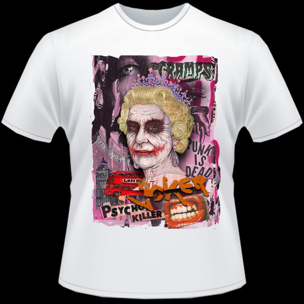 T-shirt homme PUNK JOKER  KILLER