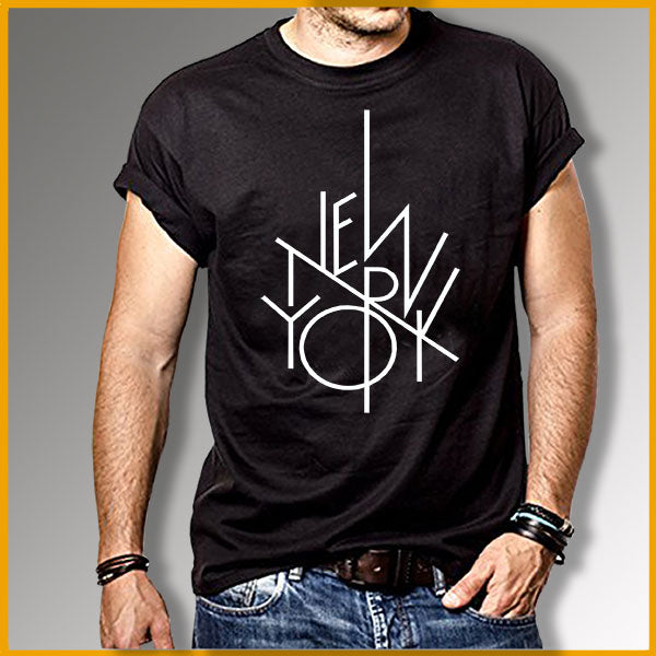 T-shirt homme TYPO NEW YORK