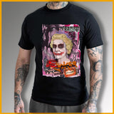 t shirt joker killer homme noir