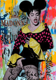 poster pop art madonna mickey