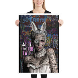 Poster Alice Wonderland design