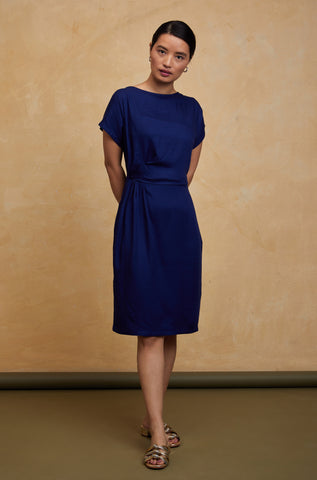 front twisted dress for women