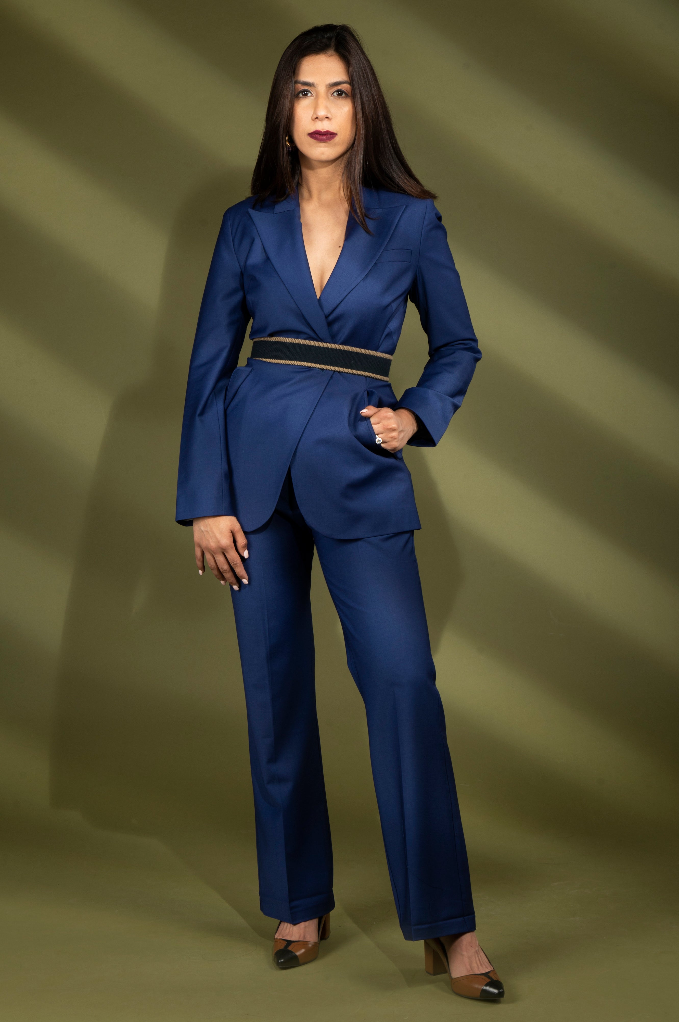 women formal pant suit for summer