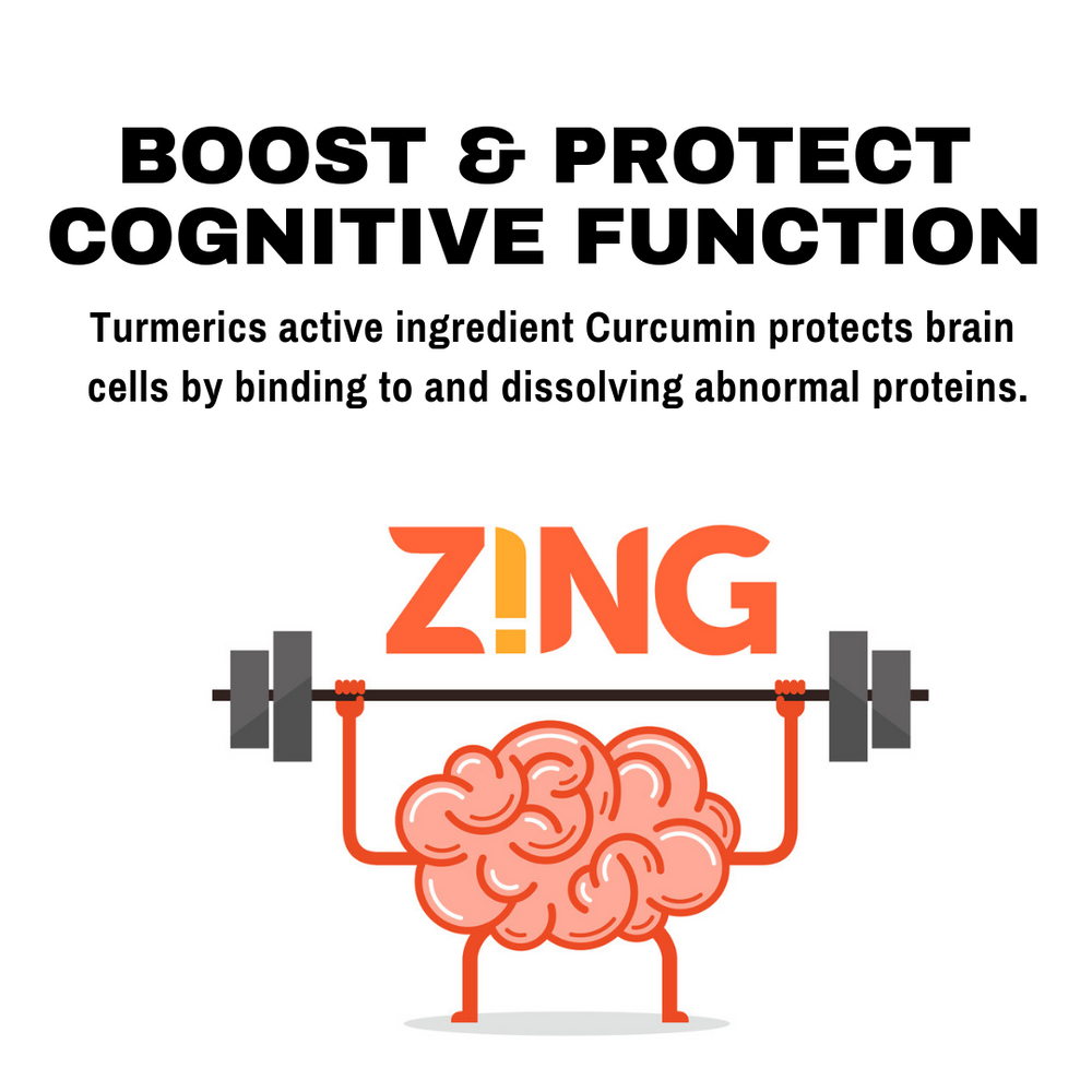 Boost and Protect Cognitive Function with Turmeric Zing