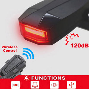 Bicycle Rear Light Bicycle Taillights Durable Portable PC 3.7V LED Rechargeable