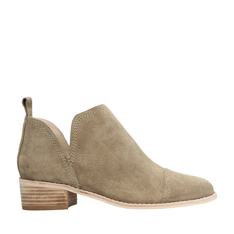 Archie Khaki Suede Ankle Boot
