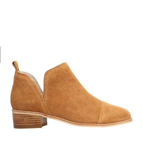 Archie Tan Suede Ankle Boot