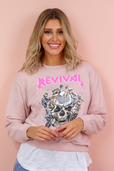 Revival Sweater in Blush