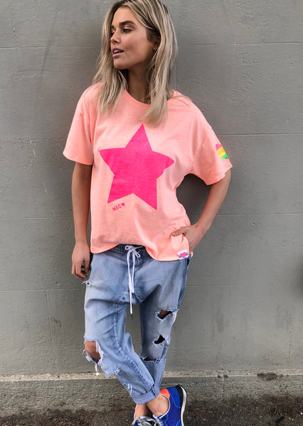 PINK STAR CREW by HAMMILL & CO