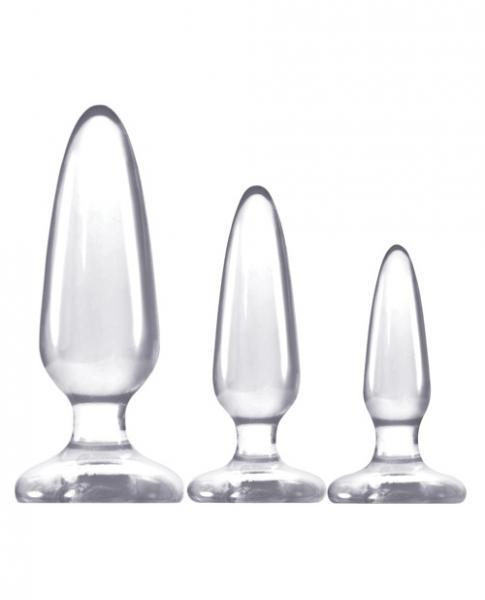 Jelly Rancher Butt Plug Trainer Kit Clear