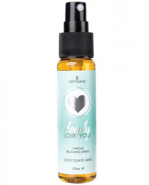 Deeply Love You Throat Spray Chocolate Mint 1oz