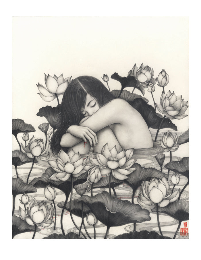 Timed Limited Edition Print : Yeon (연, 蓮)
