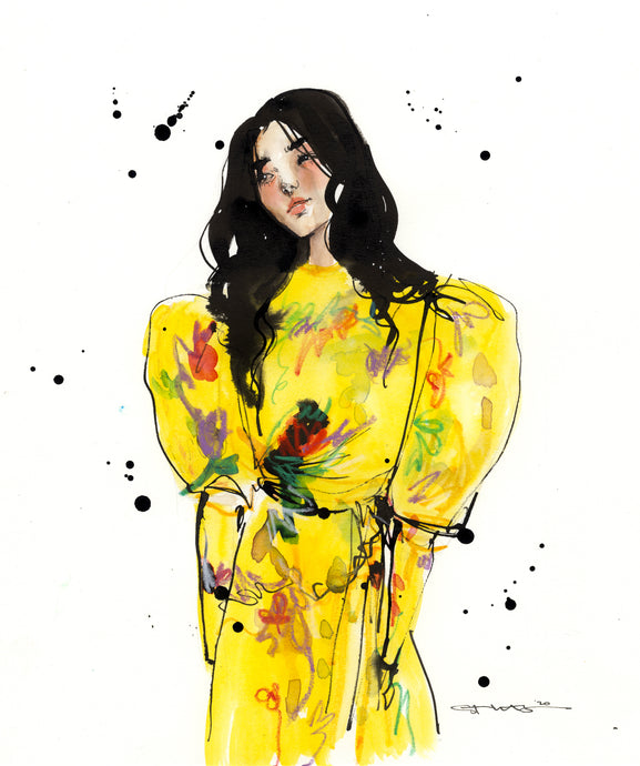 Original Fashion Illustration : Preen 1