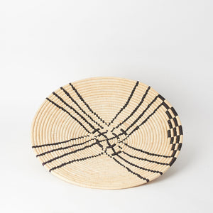 Woven African Wall Basket in Medium