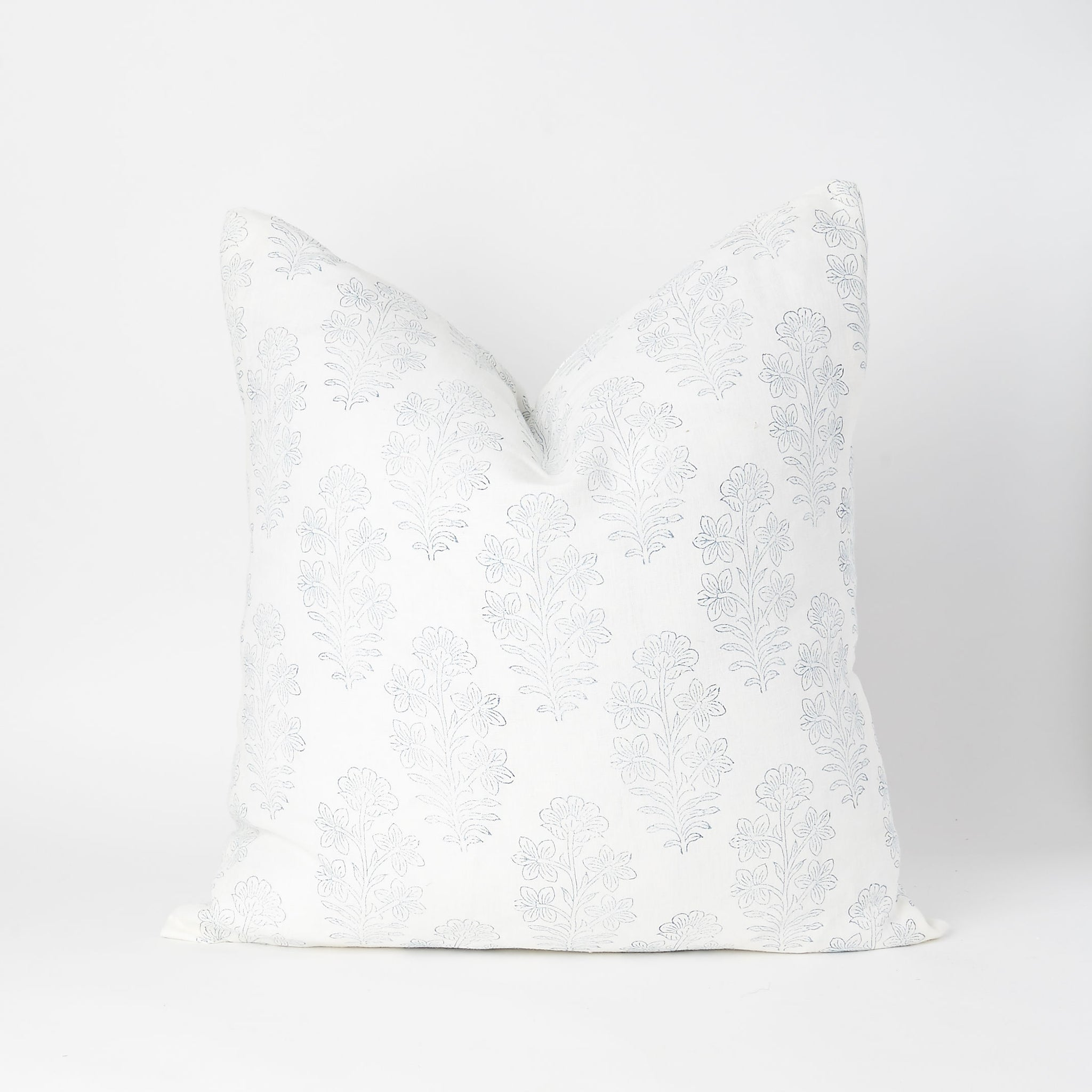 Block Printed Square Pillow