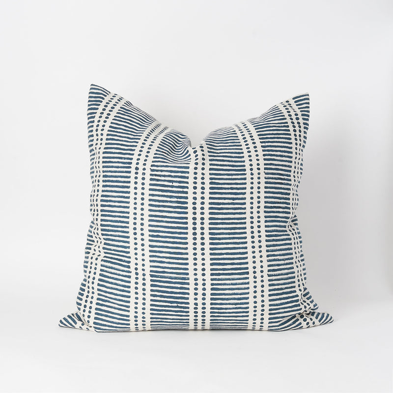 Dash & Dot Linen Square Pillow