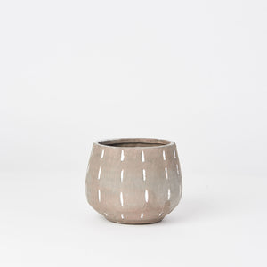 Gray Terra-Cotta Planter