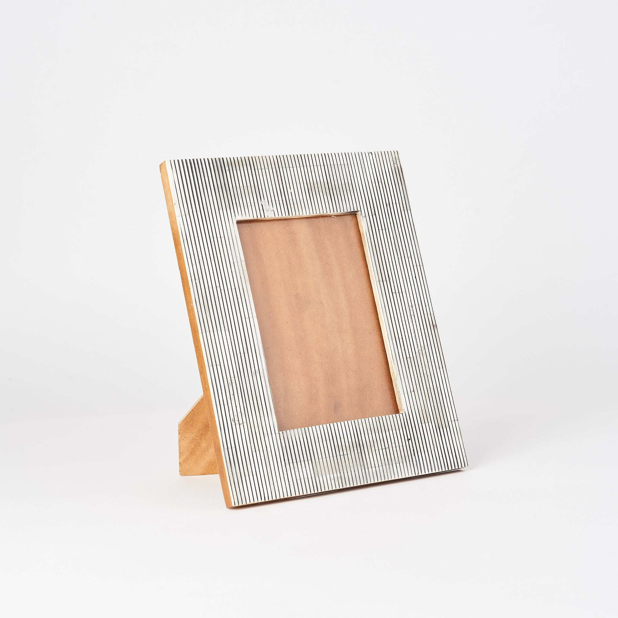 Pinstriped Photo Frame