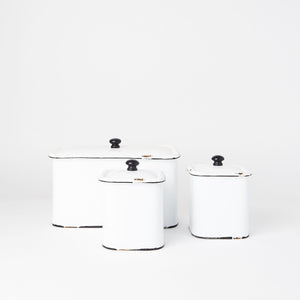 Metal Storage Boxes (Set of 3)