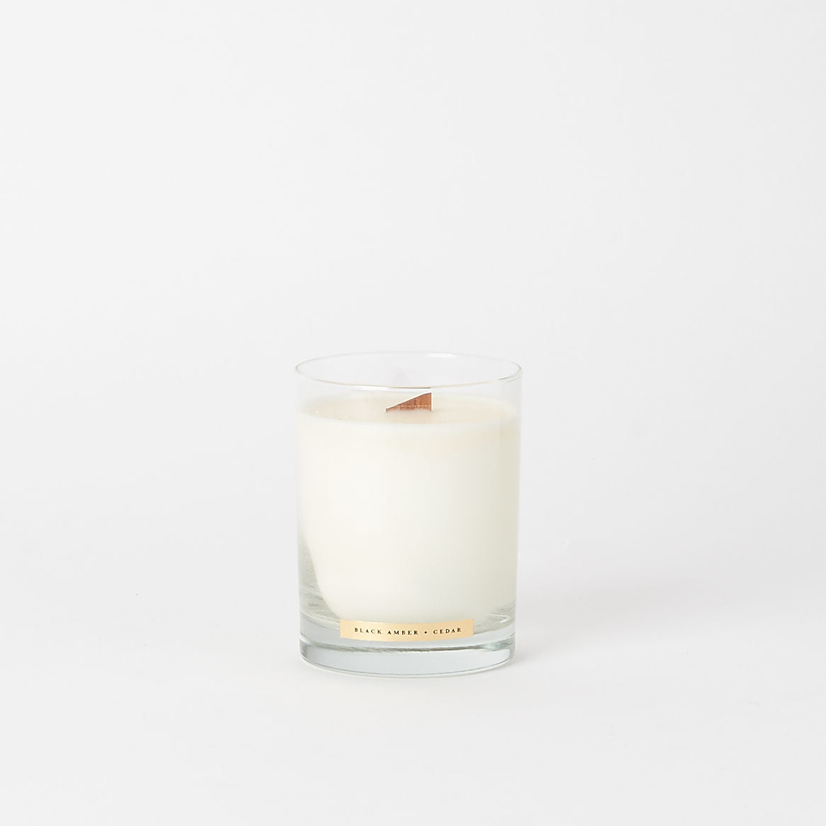 Black Amber + Cedar Candle by Monokle Collection