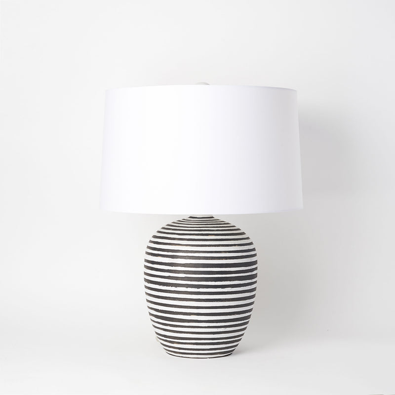 Crackled Table Lamp