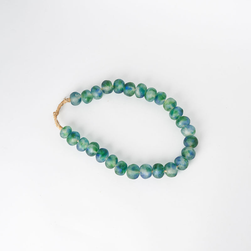 Large Sea Glass Beads in Green & Blue