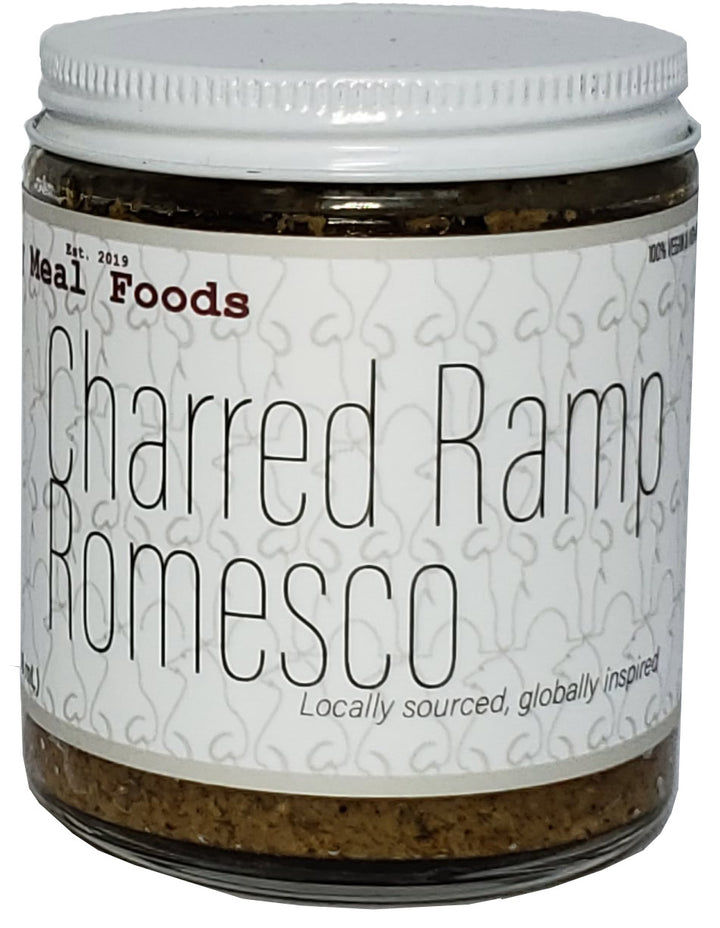 Charred Ramp Romesco