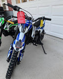 110cc Semi-Auto Dirt Bike