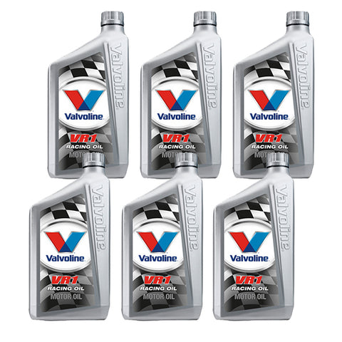 Valvoline VR1 Racing Oil, 10W30, 6 Quart