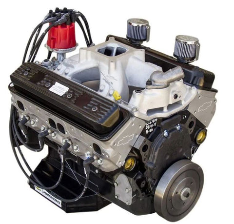 Dressed 88869604 CT400 IMCA-Sealed 604 Chevy Crate Engine, Dynoed
